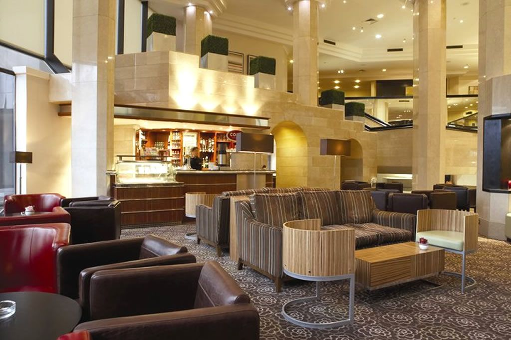 The Foyer Lounge Hospitality Interior Design Of Tower Hotel London