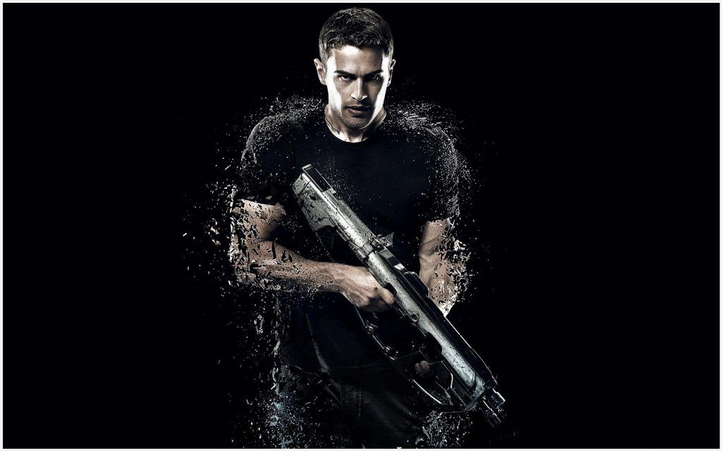 Theo James Insurgent Movie Wallpaper