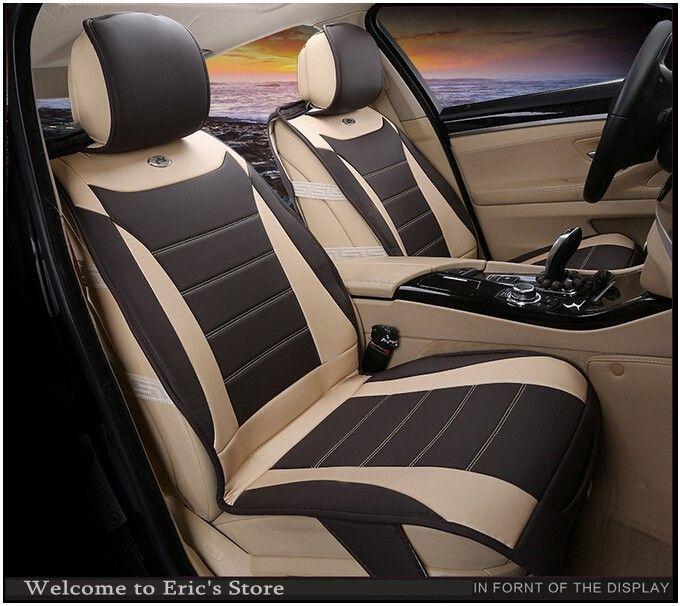 Luxury Car Seat Cover Set Standard Auto Accessories
