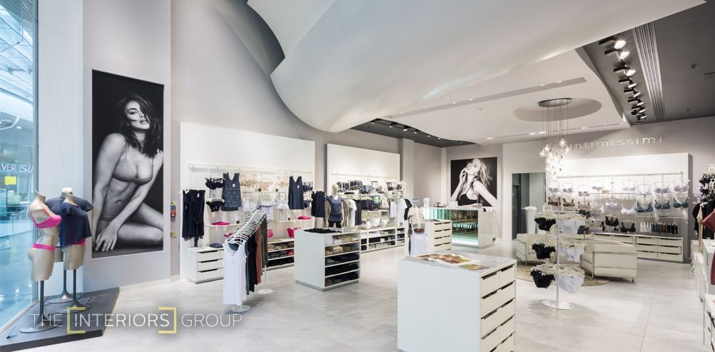 Calzedonia One Of Italys Largest International Franchises Were Eager To Make The New Store At