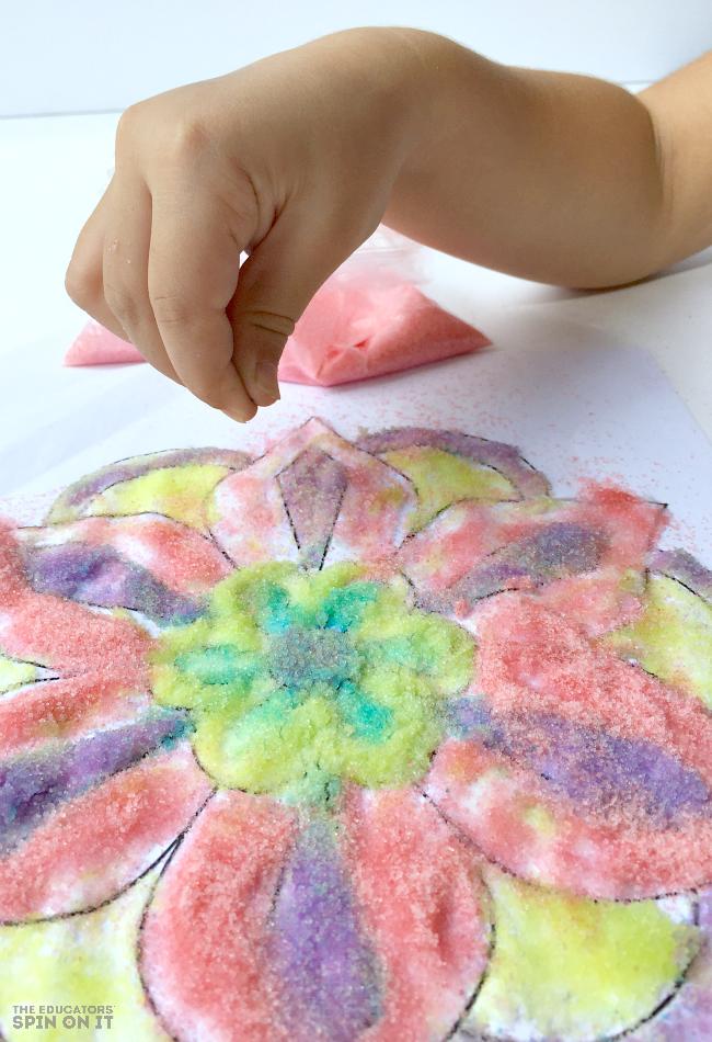 Diwali Craft Ideas For Kids Part - 42: Rangoli Craft Idea For Kids