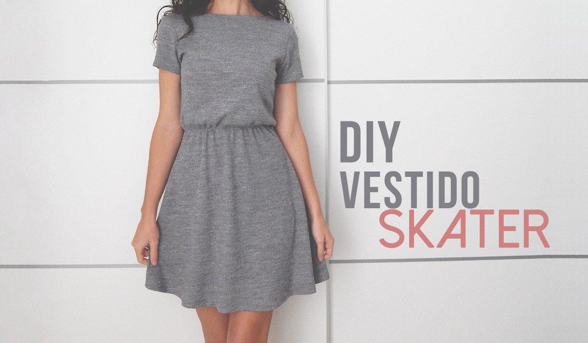diy vestido skater | vestidos | Pinterest | Nähen, Schnittmuster und ...