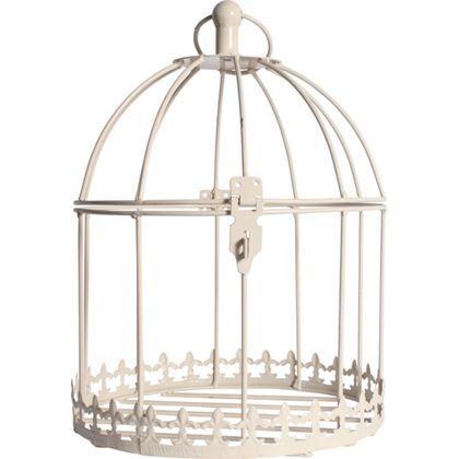 Birdcage Hanging Basket Cream Homebase 163 9 99 Hanging