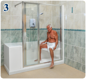 Best bath option for physically immobile