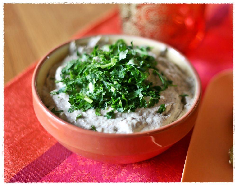 Baba ghannoush - dip di melanzane e tahina