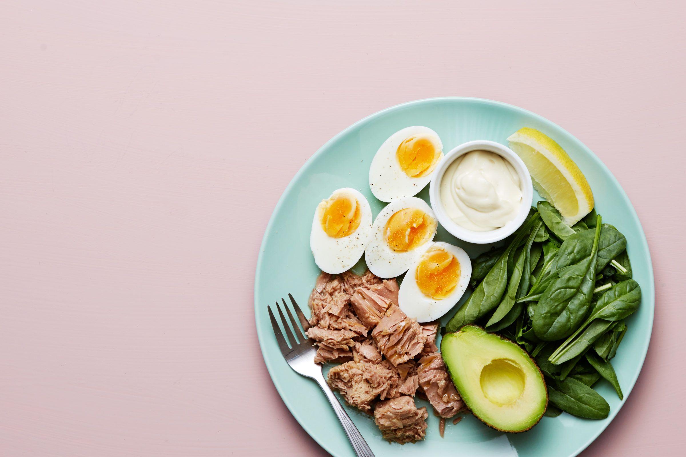 Resultado de imagem para tuna eggs spinach