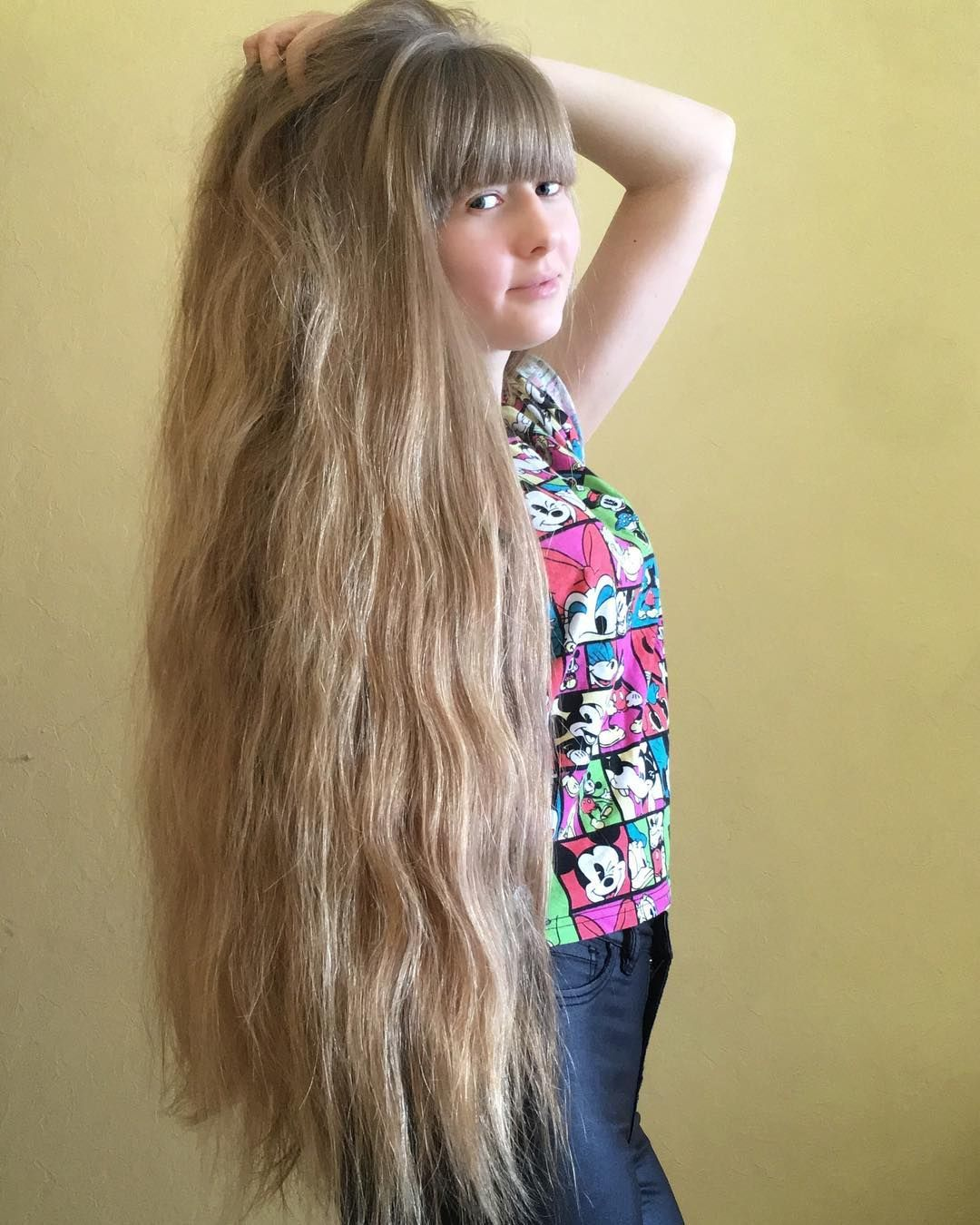 Foto By Diana Specially For Sexiesthair Longhair Dlinnyevolosy Kosadopoyasa Cheveux Long Cheveux