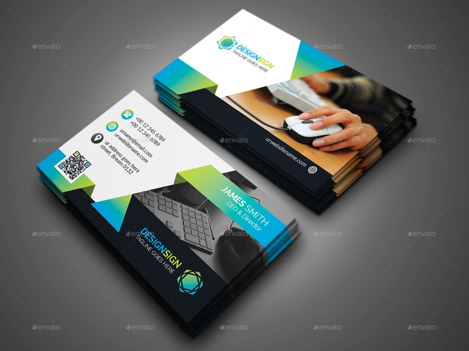 Attractive Business Card Business Card Layout Design Business Card Design Business Cards
