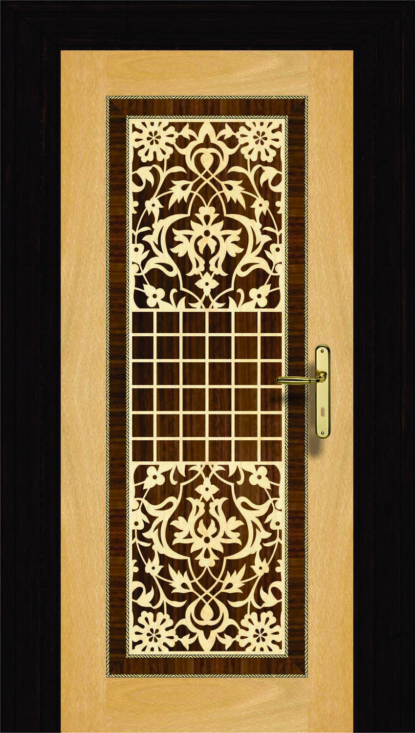 Ni 012 Veneer Designed Doors Our Website Www Niduae Com 3d Wave Wall Panel Mashrabiya Veneer Design Work Pooja Room Door Design Main Door Design Door Design