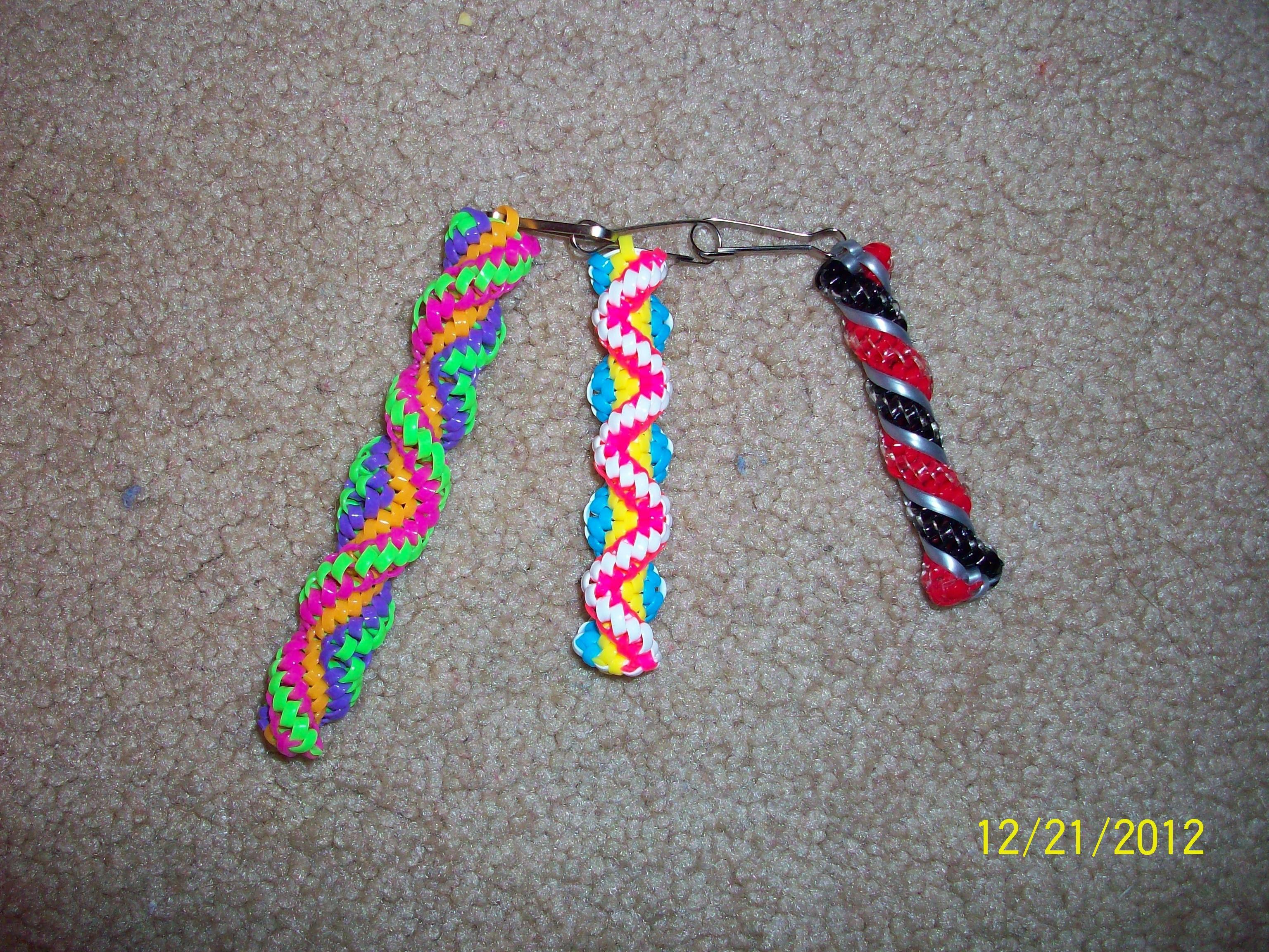 tumblr yamiboard  6 Zigzags and wrapped twist/ Boondoggle