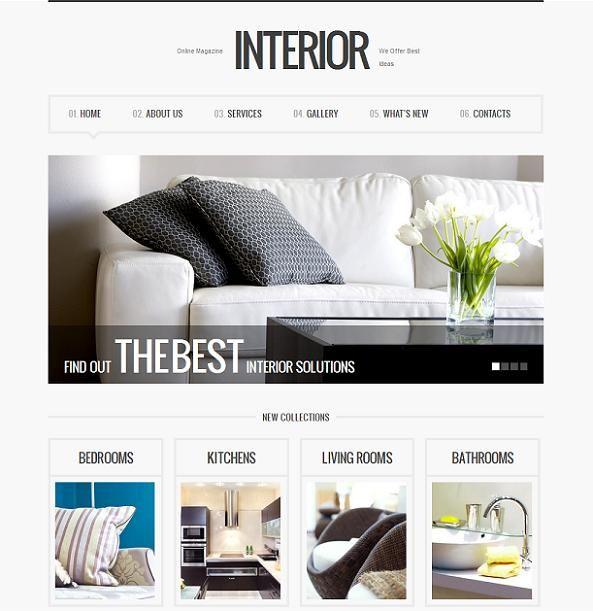 This minimalist WordPress portfolio template offers great jQuery ...