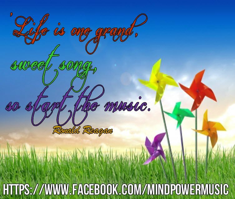 Musical Quote Of The Day: U0027Life Is One Grand, Sweet Song, So