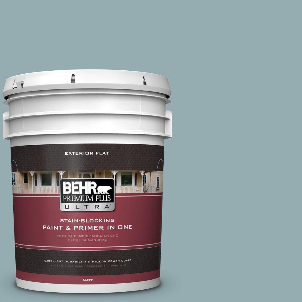 BEHR Premium Plus Ultra 8 Oz. #icc 66 Quiet Moment Interior/Exterior Paint  Sample