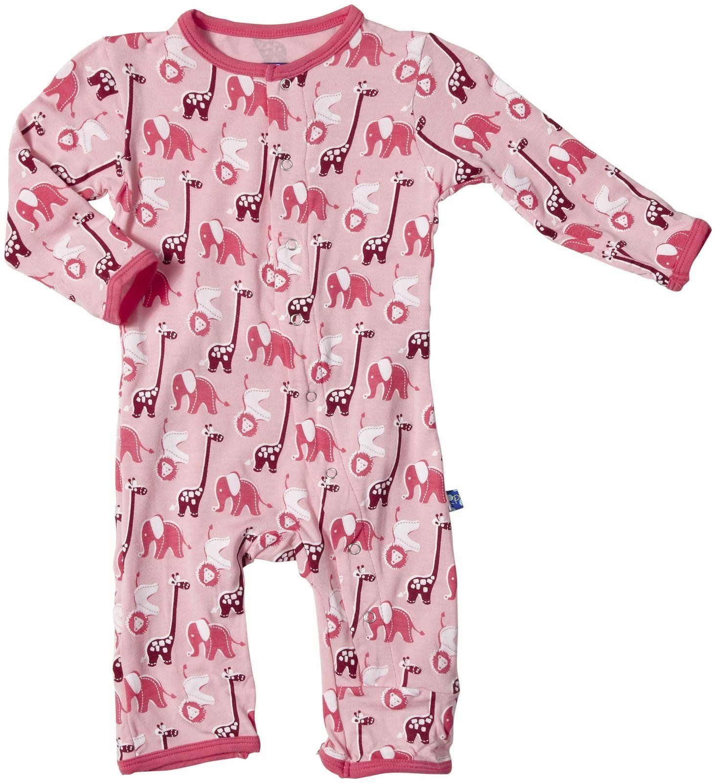 KicKee Pants Print Coverall Starfish Seahorse 0 3 Months