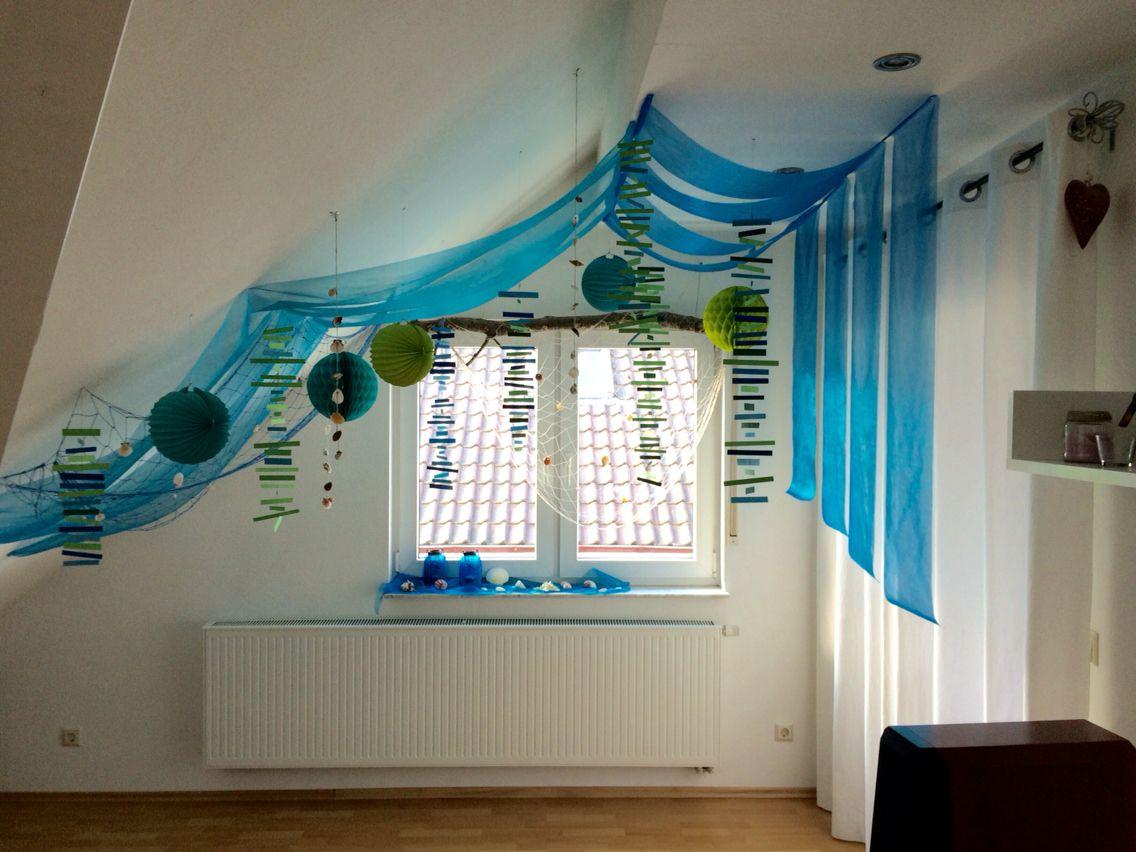 Photo of Decoration Underwater World Birthday Underwater World Lanterns Shells Mermaid P …