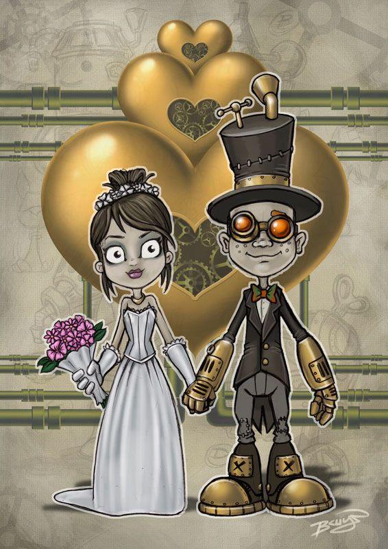 Пин от пользователя Dara Tata на доске СВАДЬБА - жених и ... Свадьба в Стиле Киберпанк