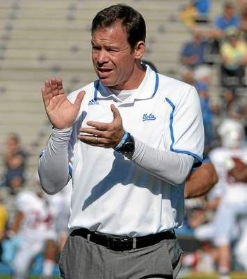 Top 50 Most Powerful In L A Sports No 33 Jim Mora Ucla Head