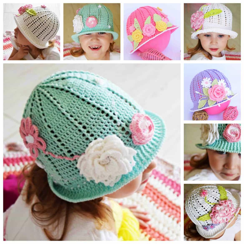 Crochet Cloche Hats The Best Free Collection | Cloche hats, Crochet ...