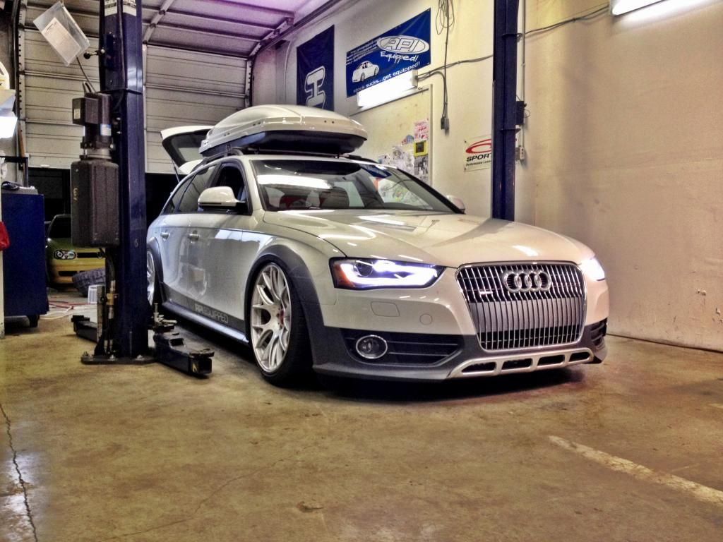 My B8 Allroad On 20x105 Ch Rs And H Springs Page 2 Cars