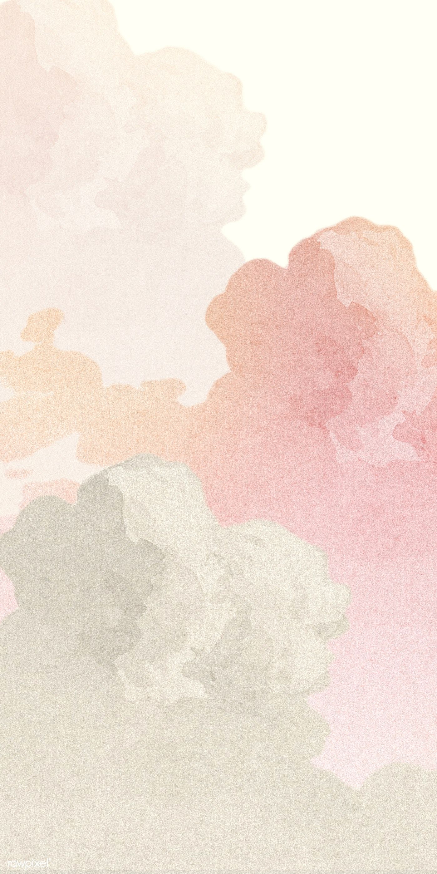 Download premium illustration of Pastel pink cloud