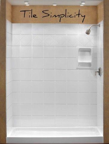 American Marble Industries Custom Shower Pan Custom Shower