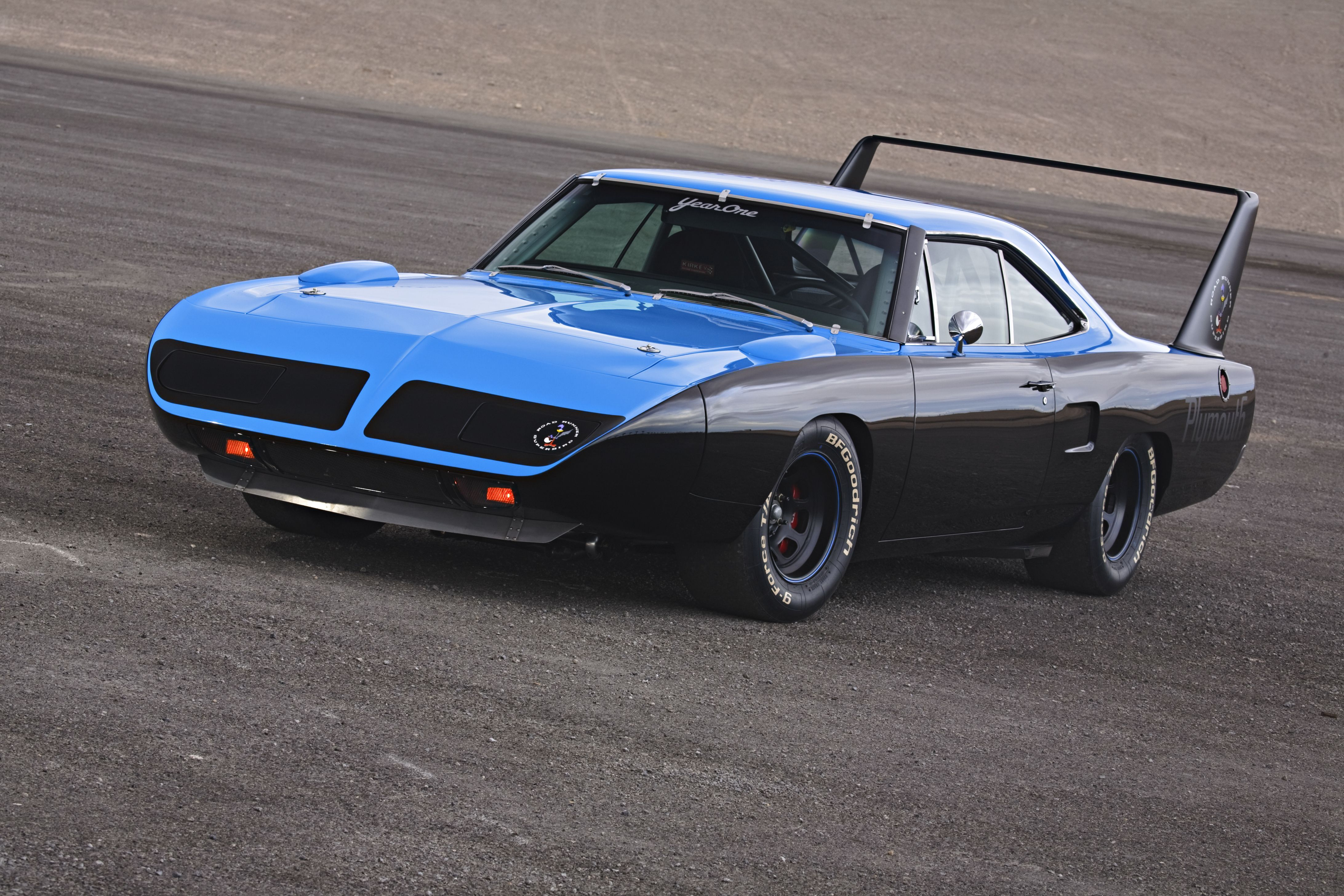 Blue On Black Superbird Muscle Cars Galore Pinterest Mopar