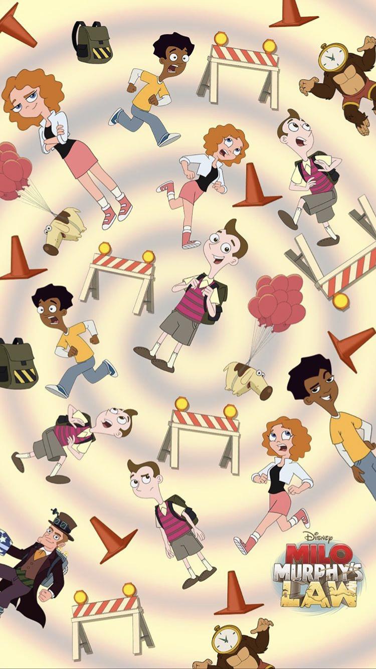 Cartoons Milo Murphys Law American Animated Television Series Hd Wallpaper In 2020 Cartoon Art Cartoon Drawings Milo Murphys Law