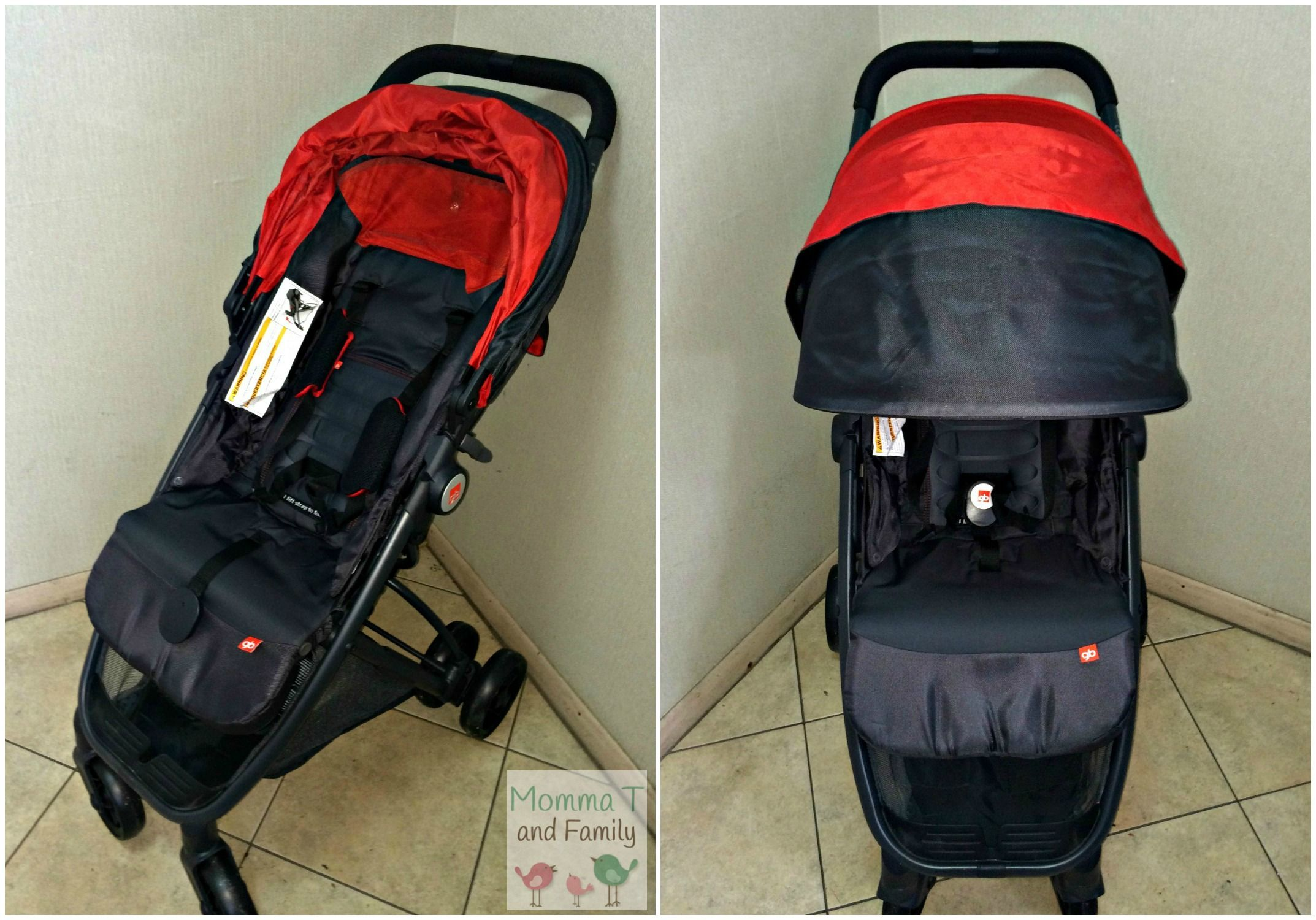 Smooth Strolling with the GB Ellum Baby toddler, Toddler