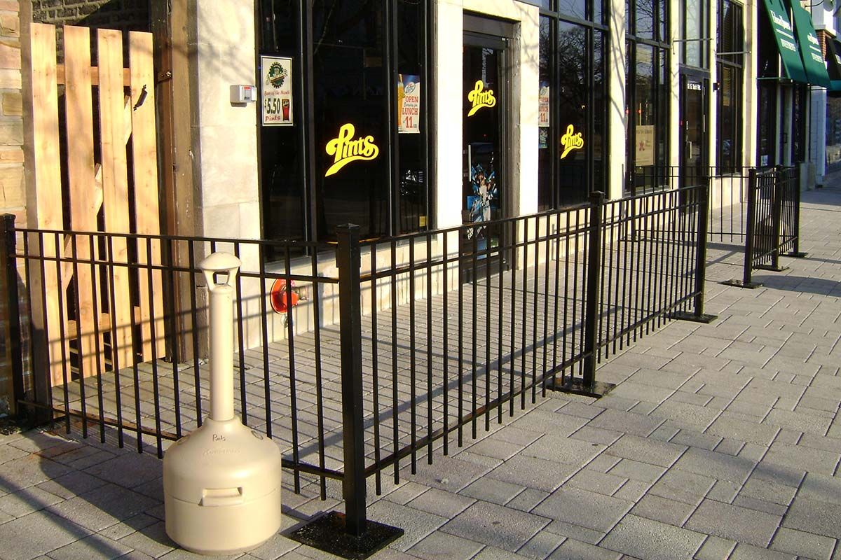 Wrought Iron Fences Chicago Decorative Residential Iron Fencing