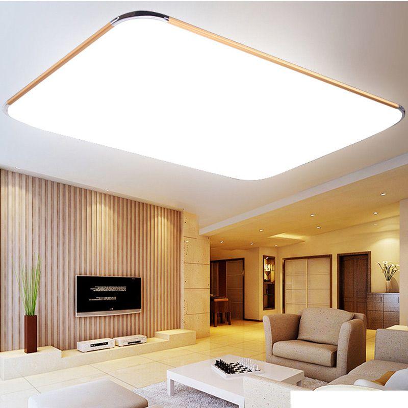 Led Panel Ceiling Light Bathroom Kitchen Flush Lamp 15w Warm White