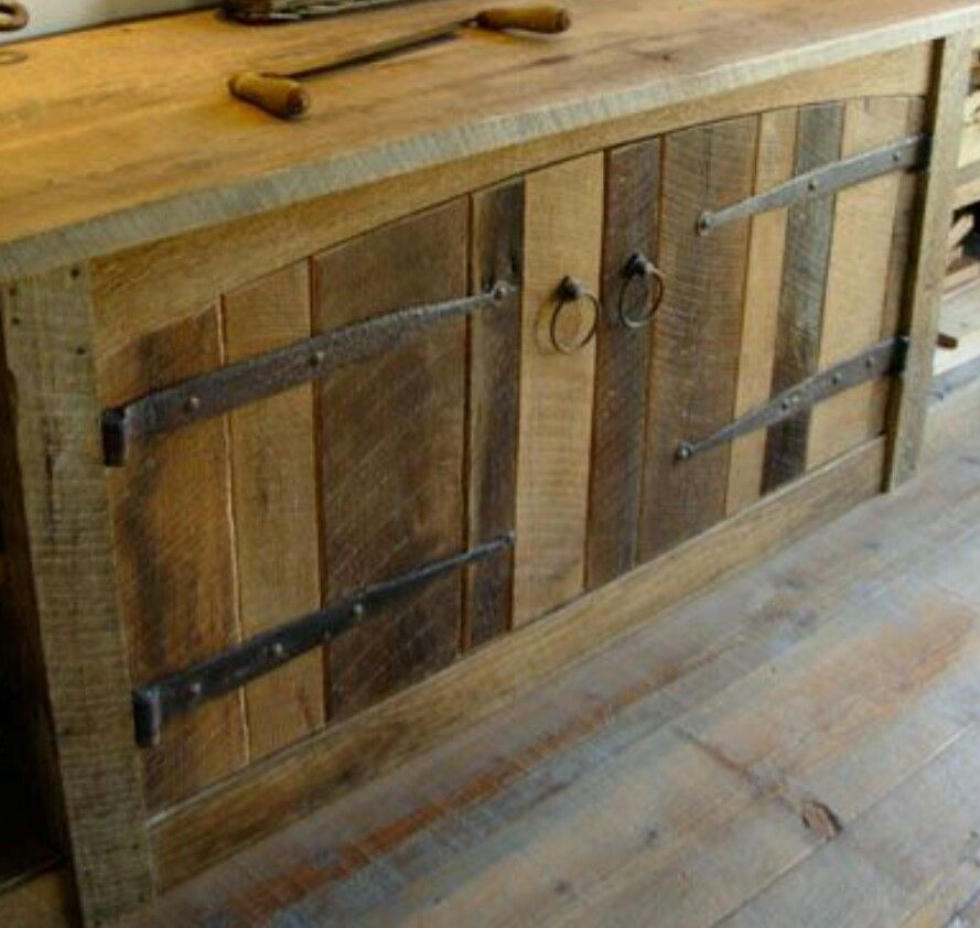 Outside Grill Doors Possibly Barn Wood Cabinets Rustic Cabinets Rustic Kitchen Cabinets