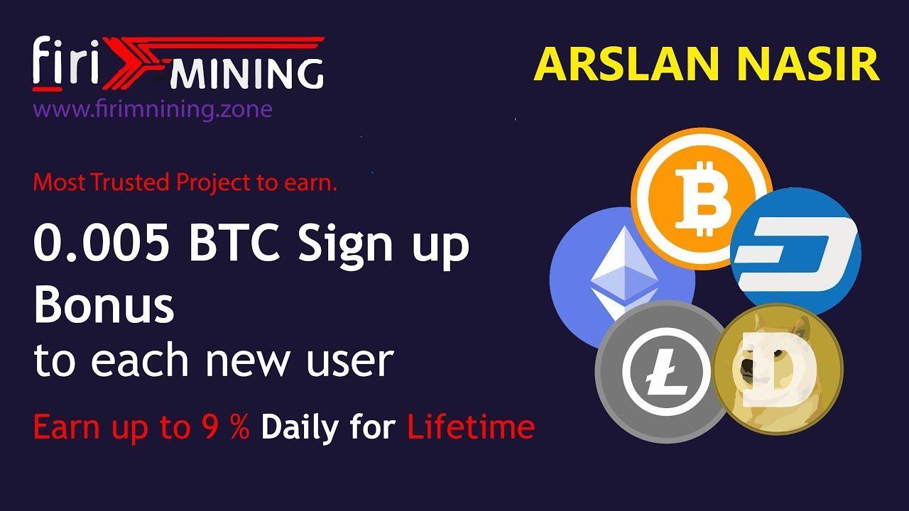 FiriMining | Earn Free Bitcoin Free Mining Site Signup Bonus
