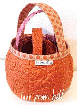 Pumpkin Bags Sewing Pattern for quilting by Beth Studley | Halloween ...