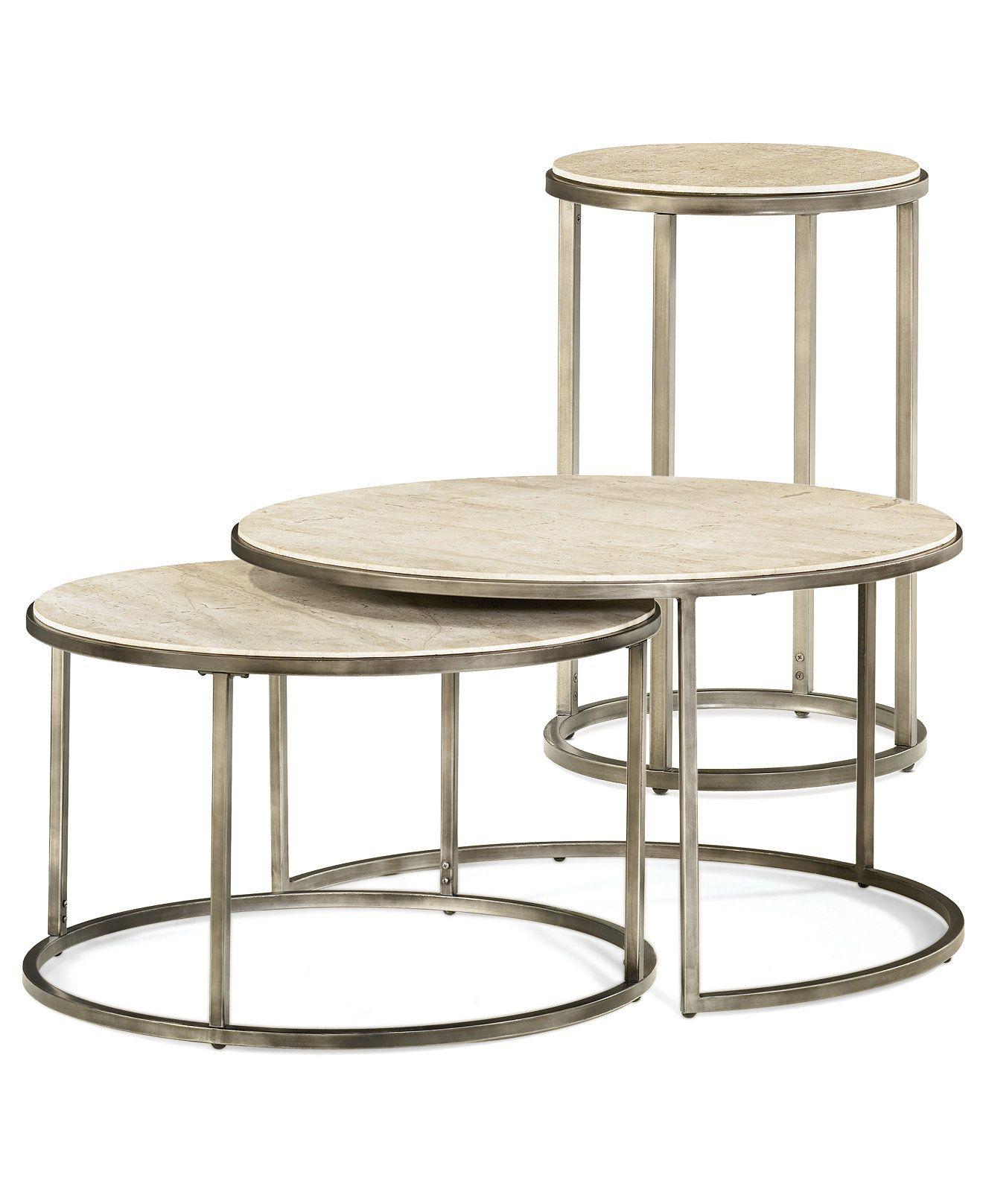 Best Monterey Round Tables 2 Piece Set Nesting Coffee Table 400 x 300