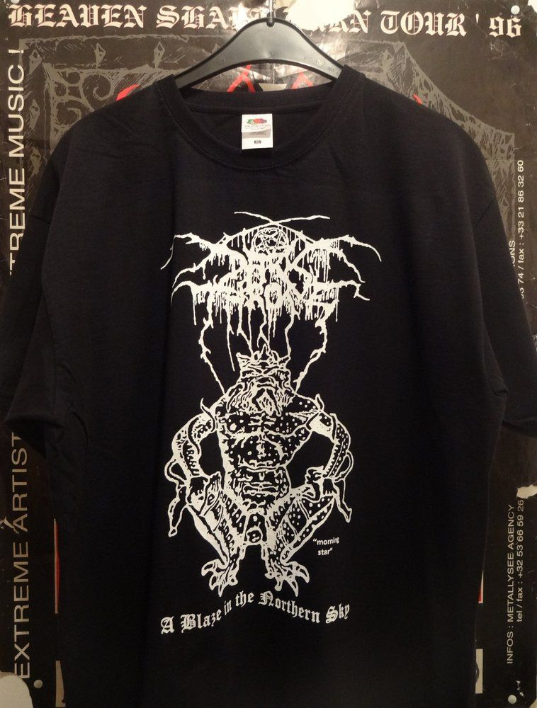 Darkthrone /'A Blaze In The Northern Sky/' Long Sleeve Shirt NEW /& OFFICIAL!
