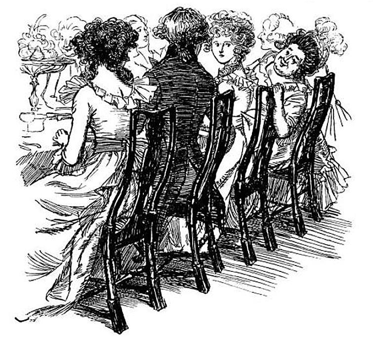 Regency Dinner Etiquette