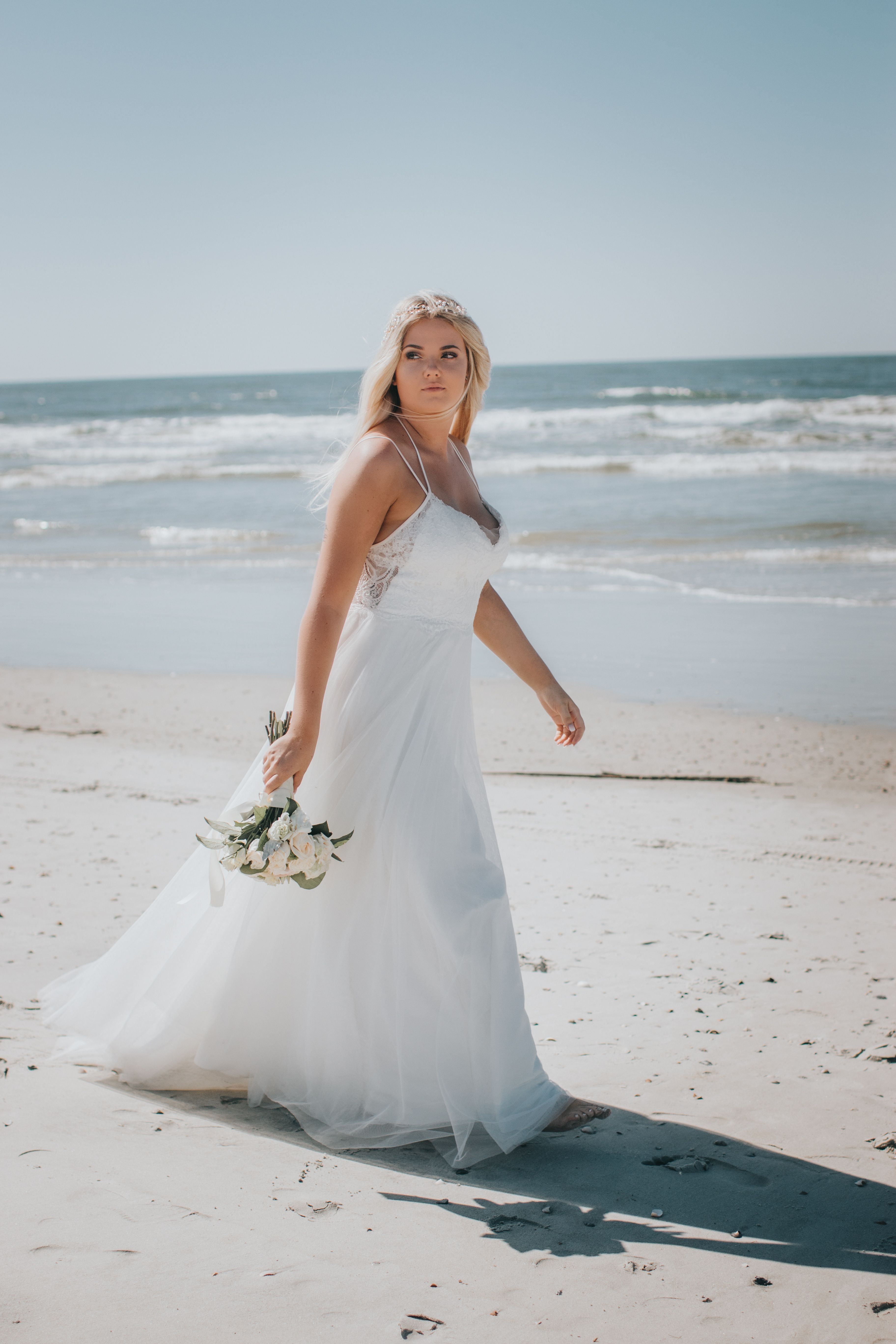 Savannah Photographer Bride Ga Tybee Island Elopement