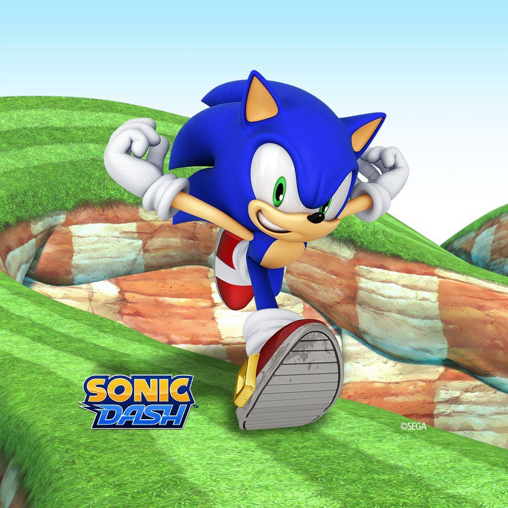 Sonic Dash Sonic dash, Sonic, Sonic the hedgehog