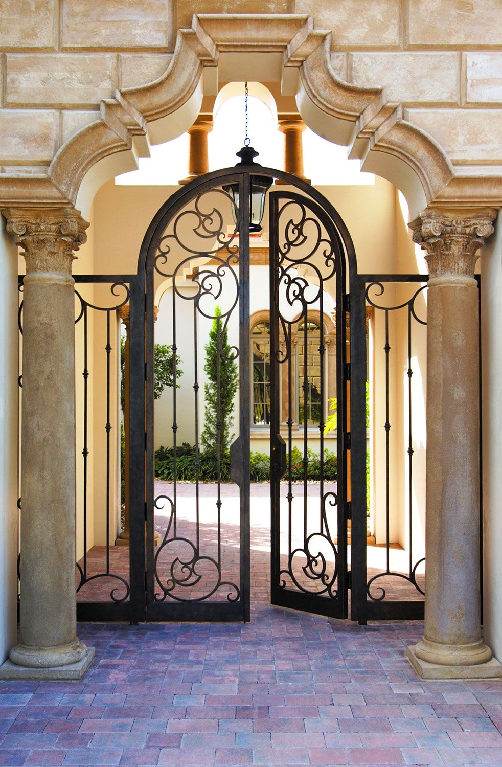 Cantera Doors Provides Hand Forged Custom Made Iron