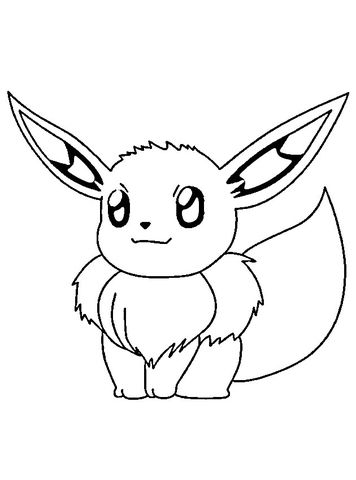 Ausmalbilder Pokemon Evoli Malvorlagen Pinterest Pokemon