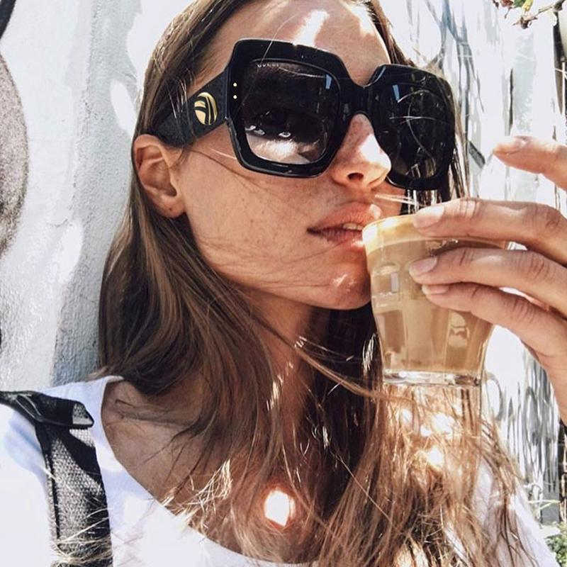 f5a72c75f0 Oversized Square Sunglasses (Available in 7 Colors) in 2019 ...