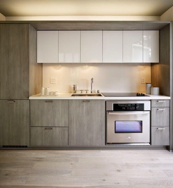 18 cocinas modernas pequeñas, llenas de inspiración | Gastronomía ...