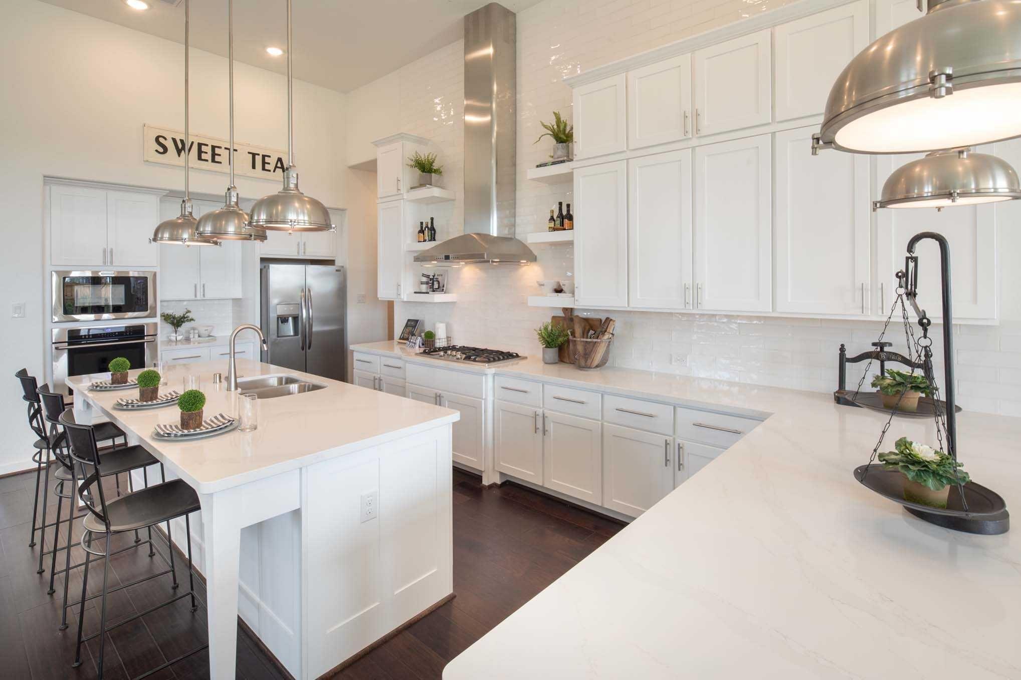 Kitchen In Highland Homes 200 Plan At 3502 Halladay Way Iowa
