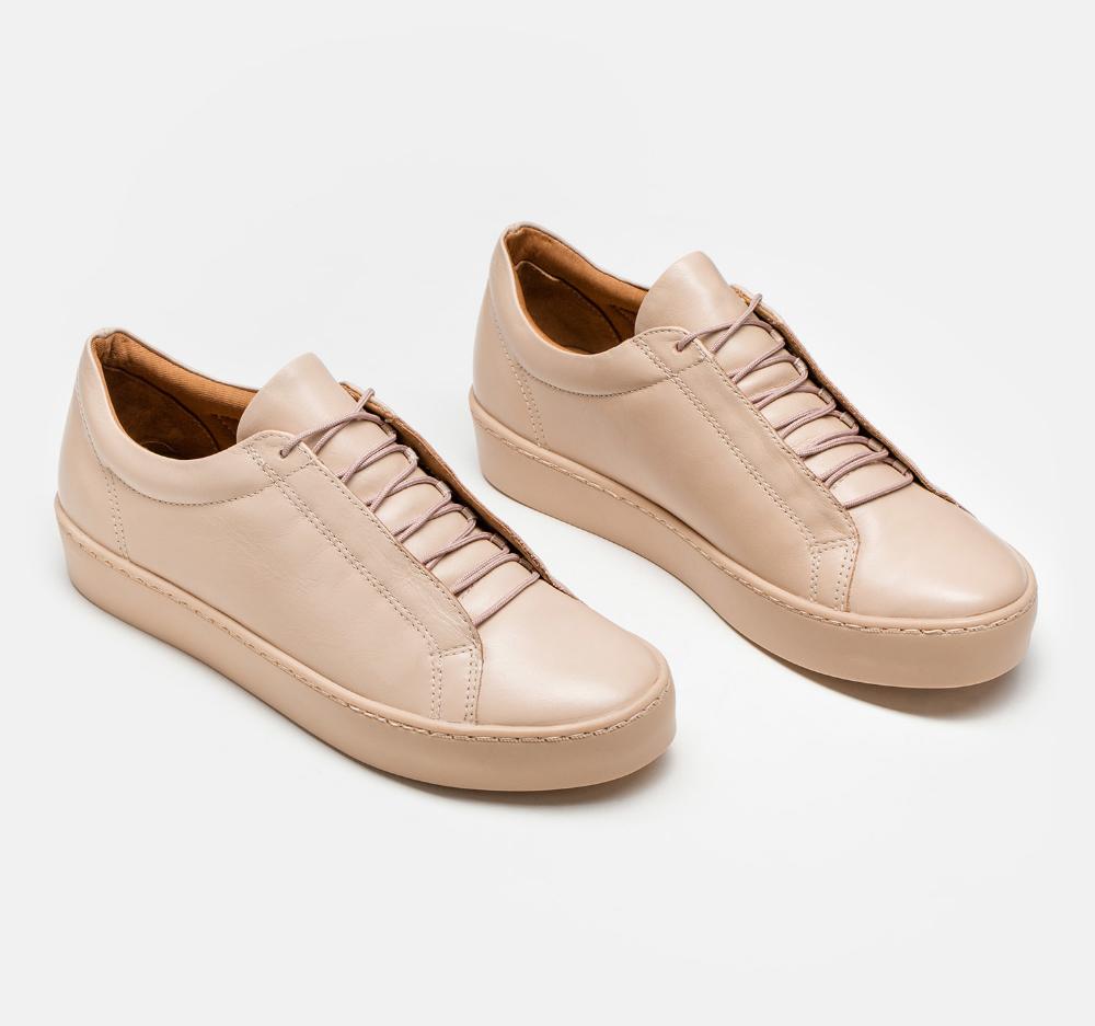 Sneakersy Damskie Bezowe 32333 01 B4 Z Kolekcji 2019 Sklep Internetowy Kazar Shoes Louis Vuitton Sneakers