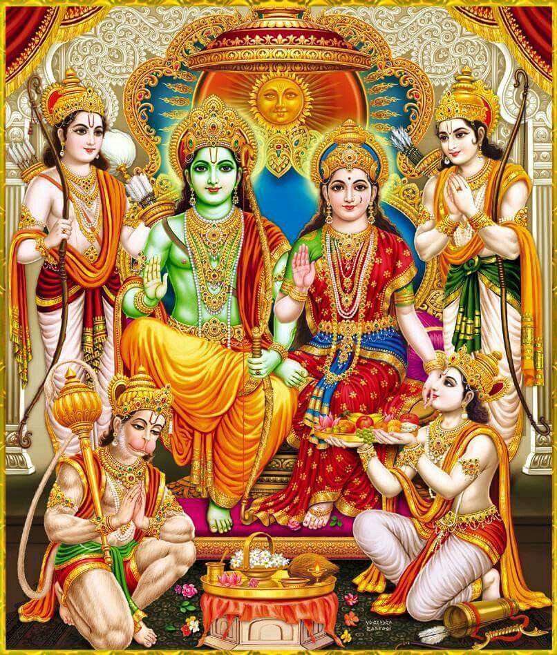 Sita Ram laxman,Bharat Satrugan and Hanuman | Dream Home in