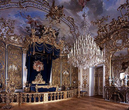 Bavarian Palace Department Linderhof Palace And Park Palace Tour Linderhof Palace Castle Bedroom Inside Castles