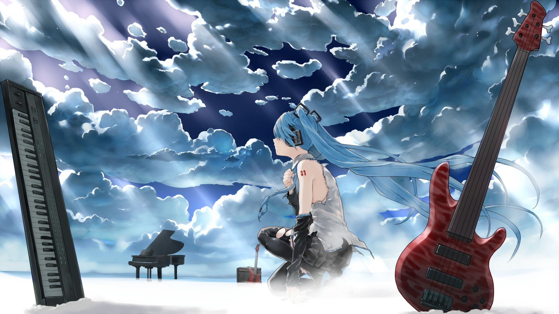Pin By Syed Hasan On Anime Hatsune Miku Vocaloid Anime Wallpaper