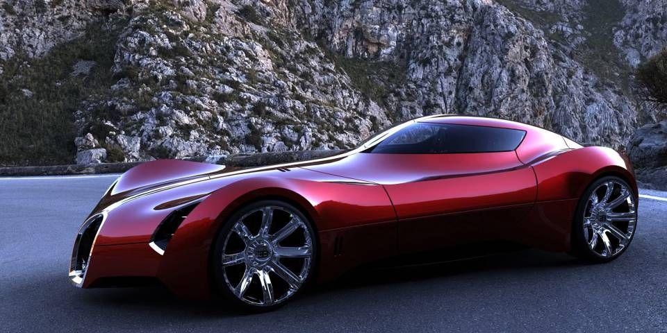 2025-Bugatti-Aerolithe-Concept-Design-by-Douglas-Hogg-Red-Side-Angle ...