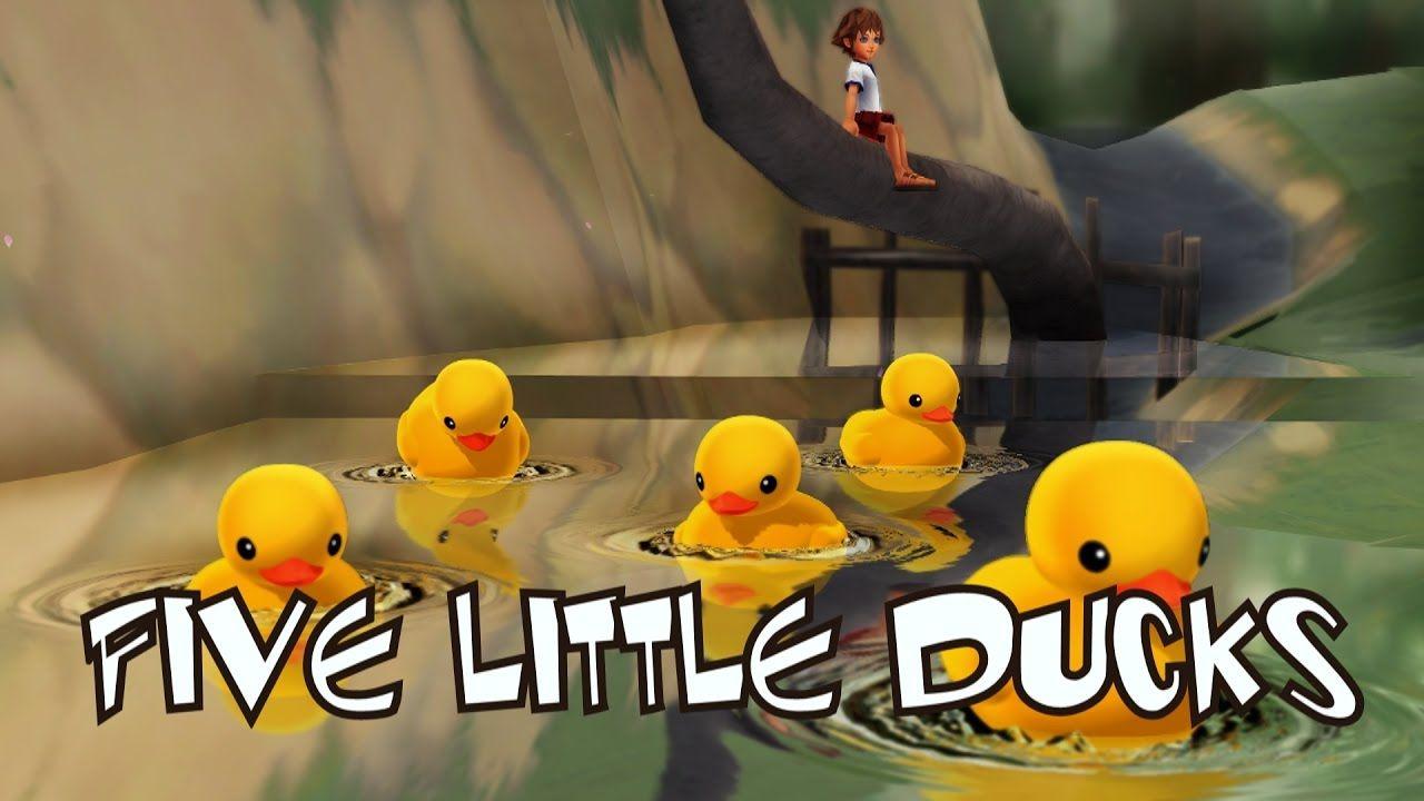 Five Little Ducks Song | Frozen Songs | Kids Songs | Nursery Rhyme ...