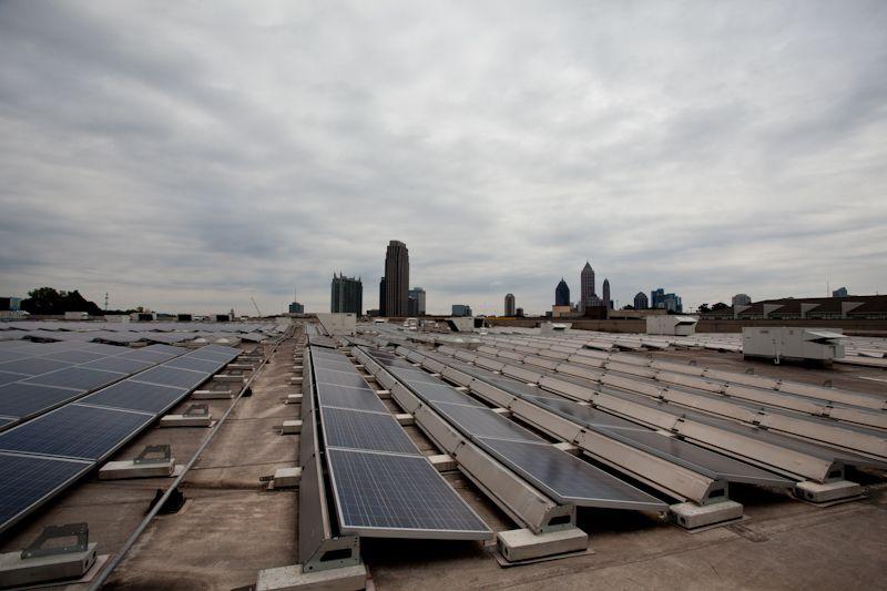 The Ikea Store In Atlanta Is Solar Powered Solar Power Solar